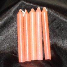 Peach Chime Candles