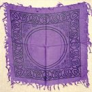 Purple Celtic Altar Cover
