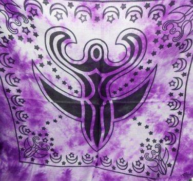 Purple Goddess Altar Cloth