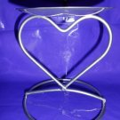 Heart Pillar Candle Holder