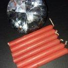 Orange Chime Candles