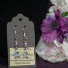 Purple Impression Jasper Earrings