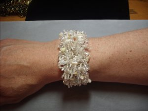 Multi-Stone Beaded Bracelet BR-12