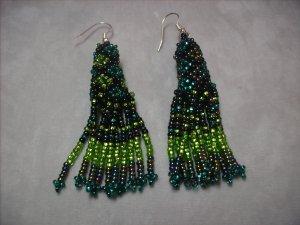 Green Dangle Earrings ER-2