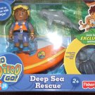 Fisher Price Go Diego Go! Deep Sea Rescus Playpack