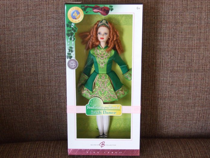 Barbie Festivals of the World Irish Dance Pink Label