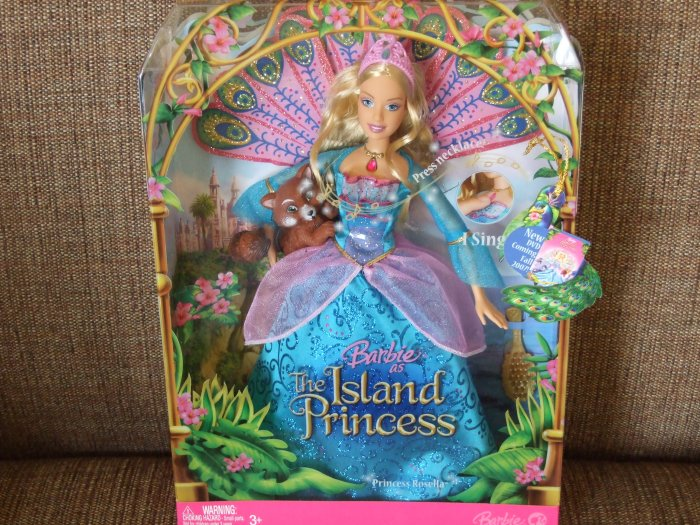 Mattel Barbie As The Island Princess Rosella