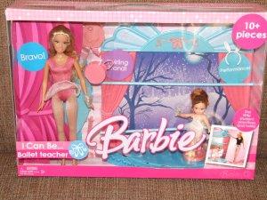 Mattel 2008 Barbie I Can Be A Ballet Teacher