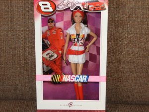NASCAR Dale Earnhardt Jr. Collector Barbie Pink Label Doll