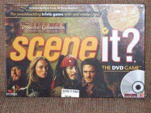 DISNEY SCENE IT PIRATES OF THE CARIBBEAN DVD GAME
