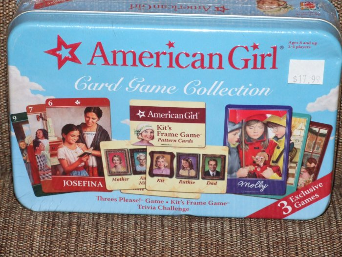 AMERICAN GIRL CARD GAME COLLECTION