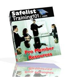 Safelist Training 101 Pro Membership