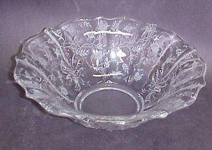 Fostoria Chintz Baroque Flared Bowl
