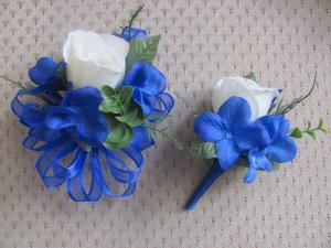 Corsage and Boutonniere Set for Wedding, Prom or Party2814 set