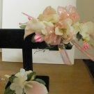 Prom Set Calla Lily Wrist Corsage & Boutonniere 2851