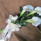Triple Calla Arm Bouquet for wedding or pagent. 725