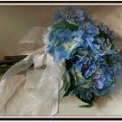 Bouquet 7in Hand Tied Hydrangeas 0701-1