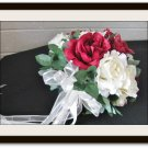 Mixed Rose Bridal Bouquet for Weddings 0806-1