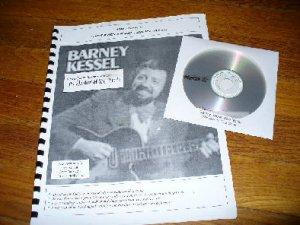 Barney Kessel Solo Jazz Guitar Arrangement with CD (Gibson archtop guitar)