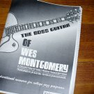 BOOK; VOL 1 Wes Montgomery Boss Guitar Solos - for archtop Jazz gibson L5