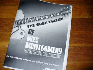 BOOK: Vol 2 Wes Montgomery Solos Boss Guitar for archtop jazz Gibson L-5