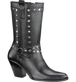 Harley Davidson Ladies STRUT Zip Casual Boots