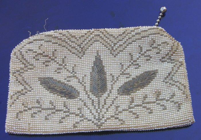 Vintage Beaded Evening Bag  made in Czechoslovakia