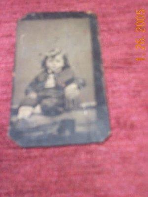 Little Boy-tintype