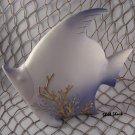 Blue Angel Fish Figurine - Tropical / Beach / Coastal / Nautical - FREE ship!