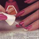 1974 Cutex Nail Polish Advertisement Women Girls
