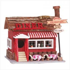 Diner Birdhouse yard decor