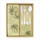 Oriiental Decor, Tropical Table setting for 4