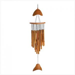 39713  Fish bamboo  windchimes