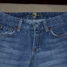7 for all mankind premium denim jeans womens 24 00 0 A pocket medium wash MINT