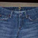 7 for all mankind premium denim jeans womens 24 00 0 A pocket medium wash MINT