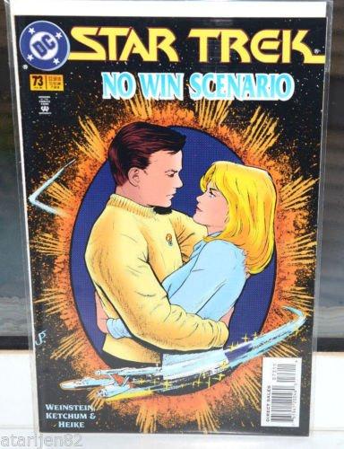 EUC Star Trek DC Comic Book 73 Jul 95 collectible vintage No Win Scenario