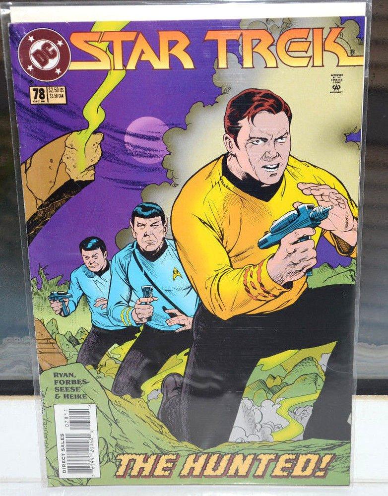 EUC Star Trek DC Comic Book 78 Dec 95 collectible The Hunted! vintage
