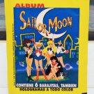 SEALED Sailor Moon color hologram trading stickers cards pack 1998 Spanish Peru
