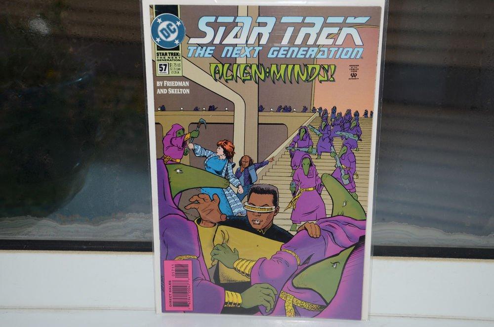 EUC Star Trek The Next Generation DC Comic Book 57 Mar 94 Alien Minds! 1994