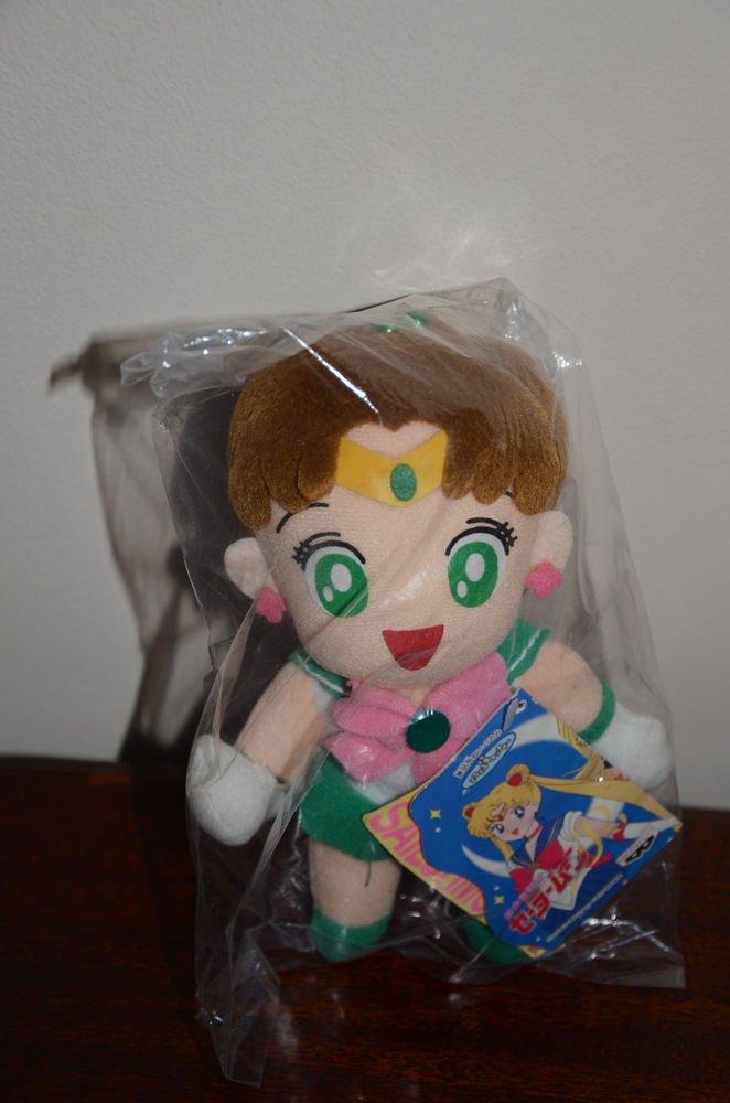 NWT NEW Sailor Moon Sailor Jupiter plush doll plushie Banpresto 1994 stuffed toy