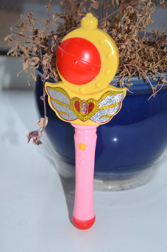 Sailor Moon R wand cosplay costume Yutaka scepter mini cutie moon rod import