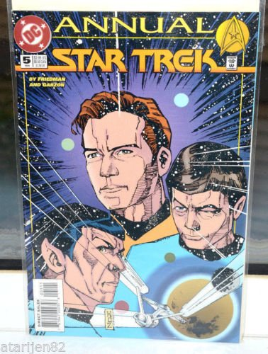 EUC Star Trek DC Comic Book Annual 5 94 collectible vintage 1994 Special