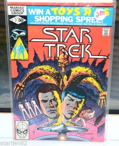 Near Mint Star Trek Marvel Oct 1980 Comic Book 7 first print collectible Vintage