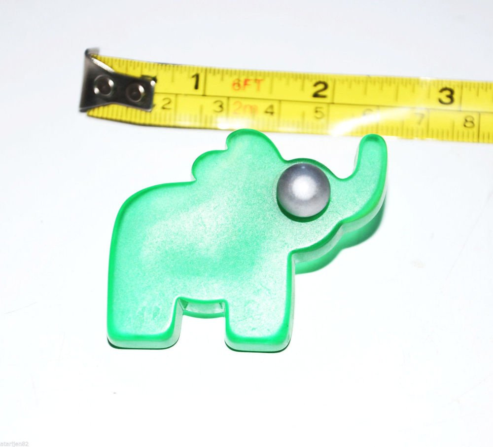 green elephant knob handle cabinet pull decor Decorative Animal childrens youth