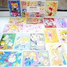 NEW 1995 Sailor Moon All Star Postcard Collection Nakayosi furoku Japan import