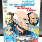 EUC Star Trek The Next Generation DC Comic Book 9 Jun 90 Save Dr. Crusher's Life