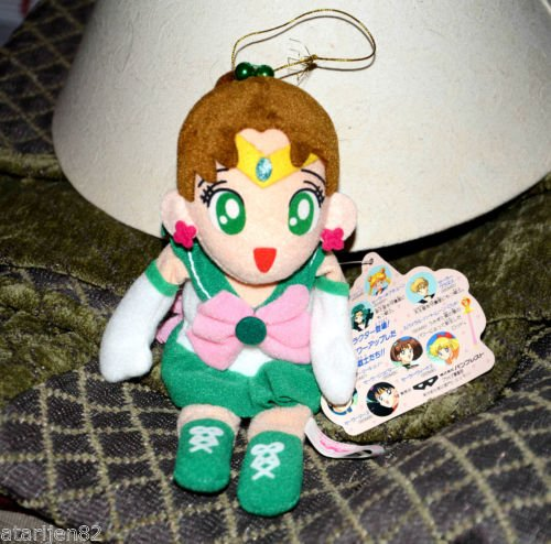 Sailor Moon Jupiter plush doll plushie Banpresto stuffed toy UFO beanie hanging
