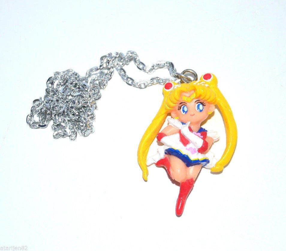 MINT Super Sailor Moon necklace pendant jewelry gashapon japan figure T.K.TA.T