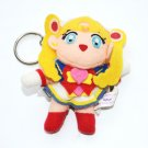 Banpresto Japan 95 Super Sailor Moon S plush doll stuffed toy keychain key ring