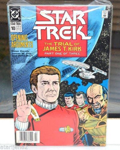 Star Trek DC Comic Book 10 Jul 1990 Opening Arguments Trial of James T. Kirk 1